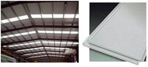 Lucernarios panel sandwich policarbonato para cubiertas - Precio del policarbonato ...