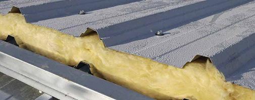 Panel sandwich prefabricado in situ cerramientos de - Lana de roca con aluminio ...
